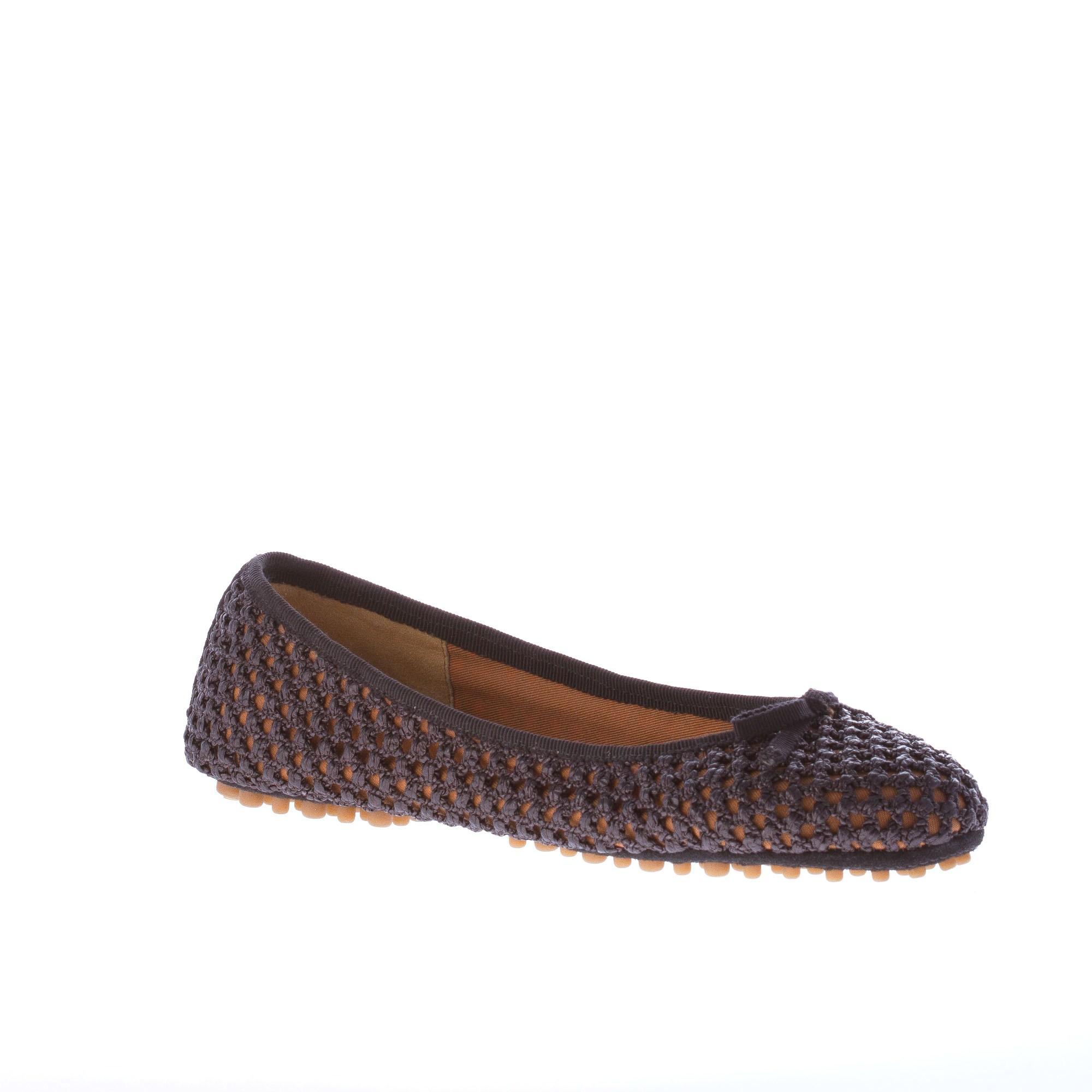 Car zapatos Zapatos Mujer Negro Trenzado Arco Rafia Ballerina Plana Con Arco Trenzado fbe8df