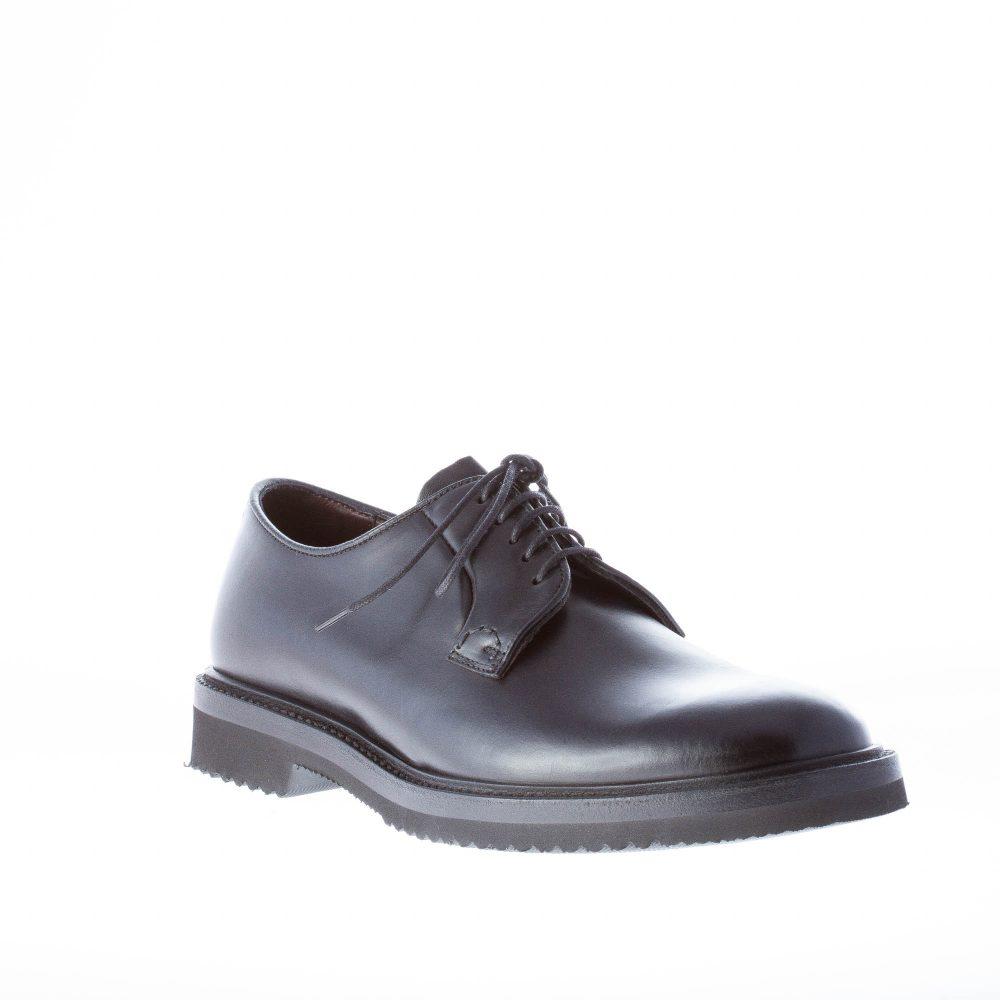 ORTIGNI uomo scarpa classica derby in pelle NERO  88b9c6bff19