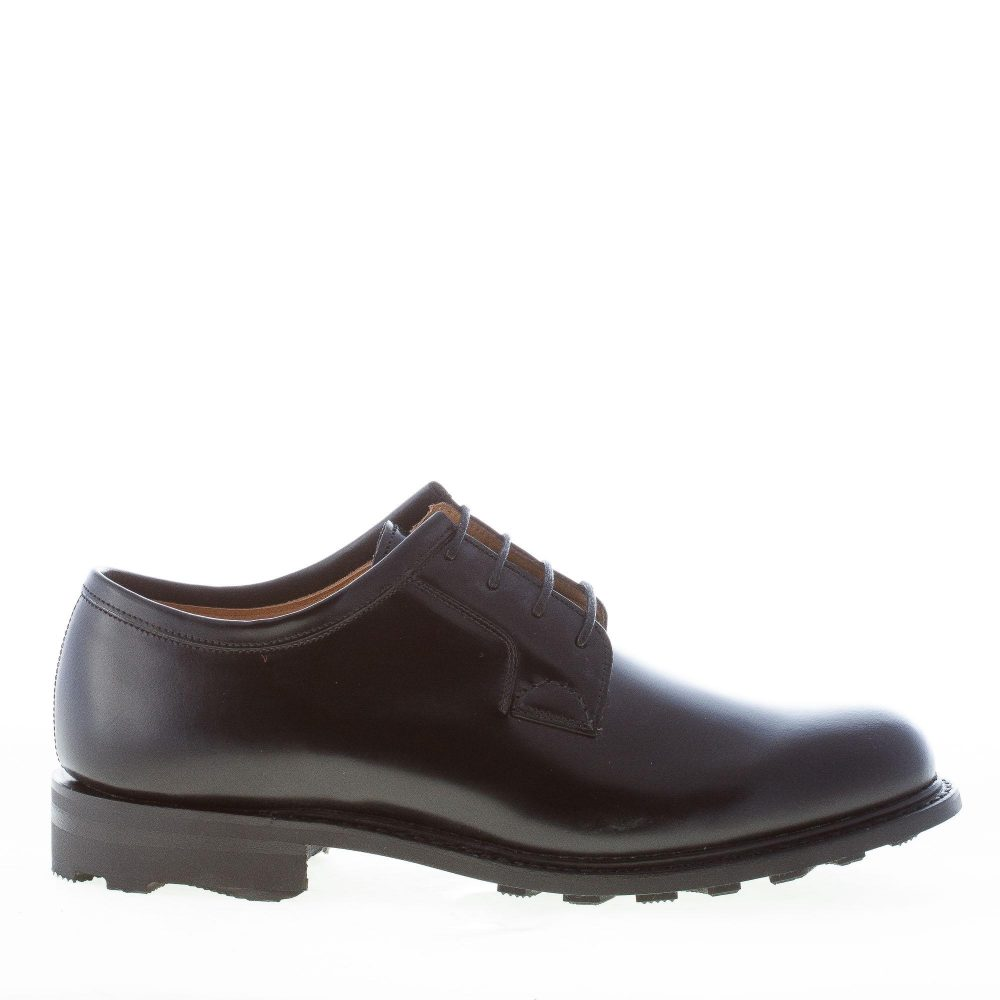CHURCH S uomo NEWBRIDGE 2 scarpa derby in pelle NERO a punta liscia ... 29f0739f183
